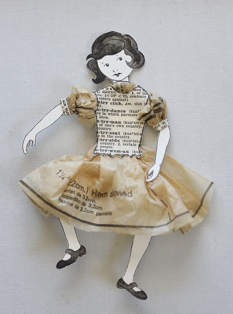 little paper girl