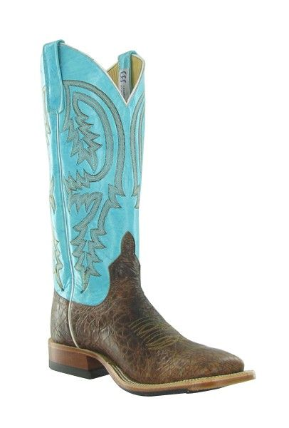 112370c7f4c Anderson Bean Volcano Chocolate/ Turquoise Ladies Boots | Boots that ...