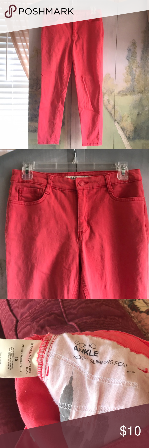 Jones Of New York Pink Jeans Pink Jeans Petite Jeans Clothes Design