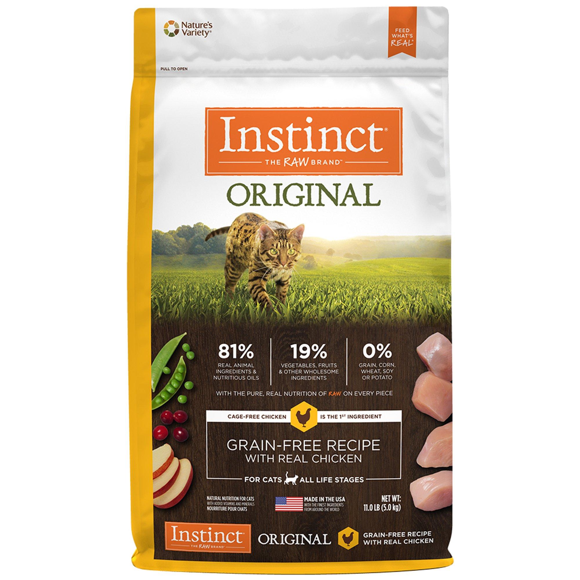 Instinct Original Grain Free Recipe With Real Chicken Natural Dry