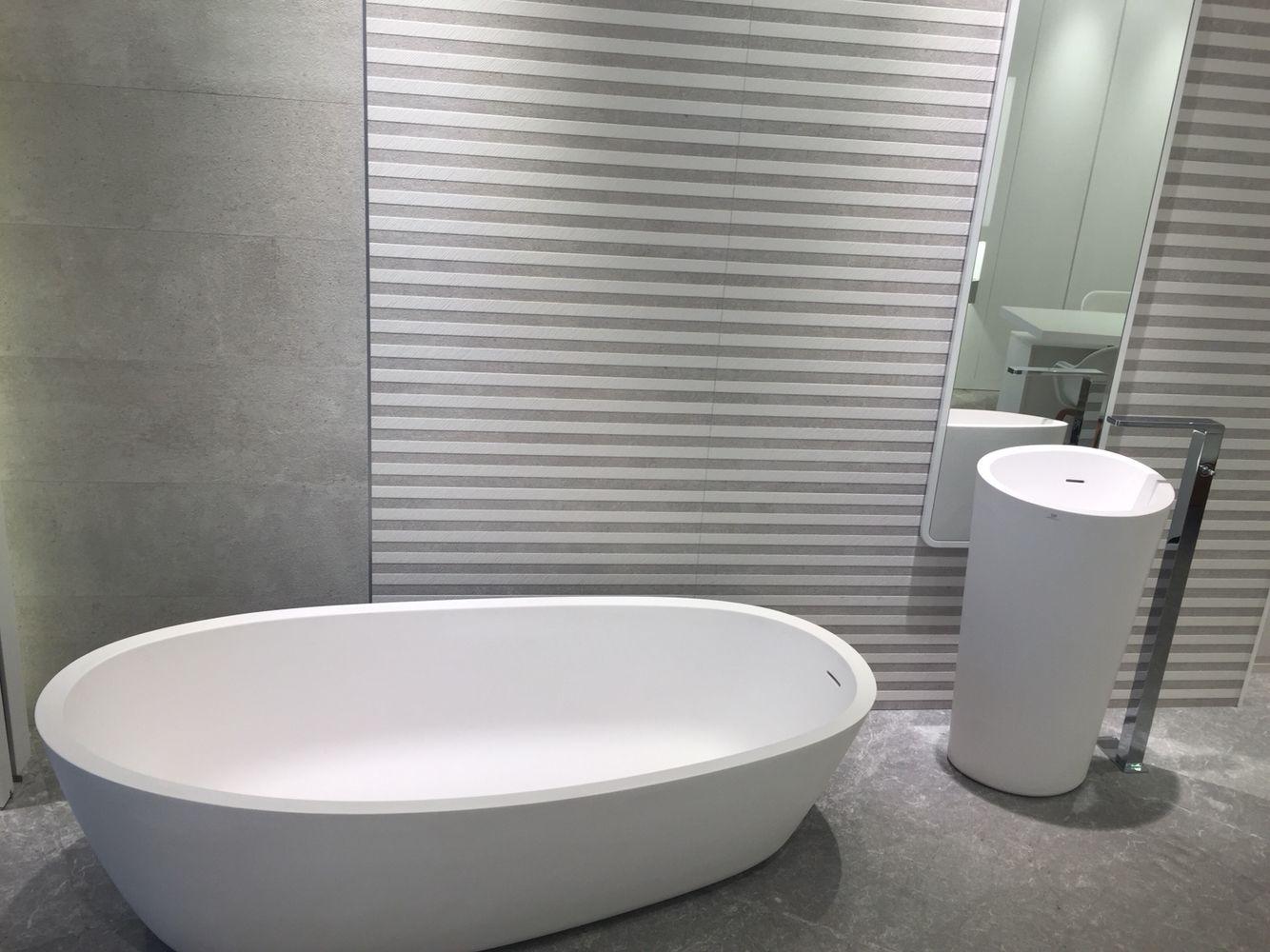 Porcelanosa badkamer | Venis en porcelanosa tegels | Pinterest