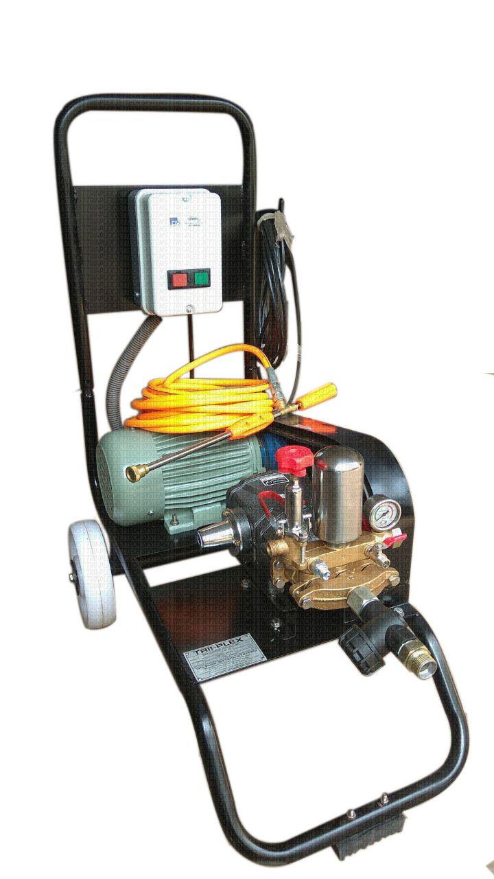 Triplex Plunger Pumps Systems Plunger Water Pressure Pump Electric Motor