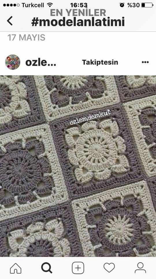 Pin von Aişegül Duran auf orgu | Pinterest | Handarbeiten, Stricken ...
