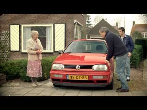 Never Buy A Car From A Little Old Lady Publicite Drole Volkswagen Humour