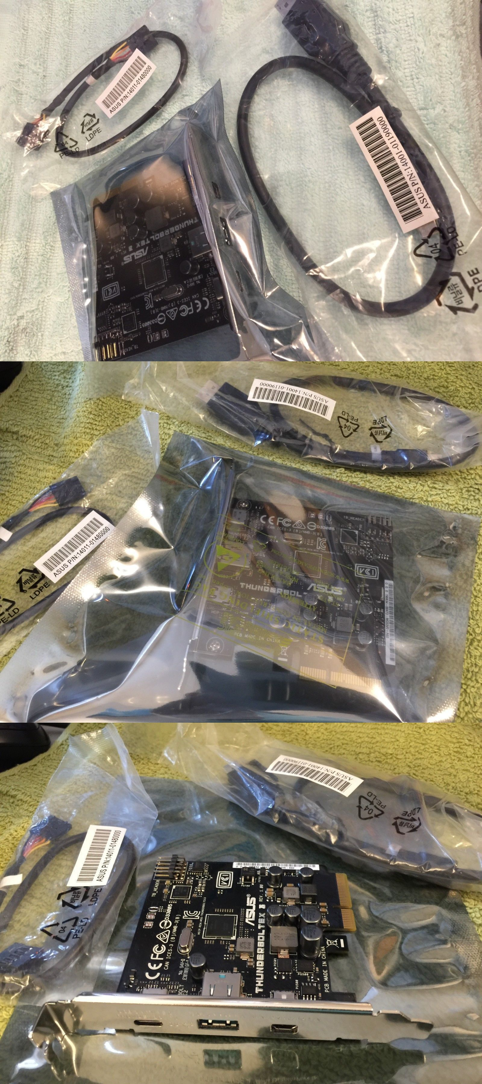 Motherboard components and accs 182090 asus tuf x299 mark