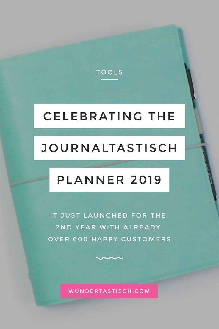 Photo of Celebrando el lanzamiento de Journaltastisch Planner 2019 – Wundertastisch