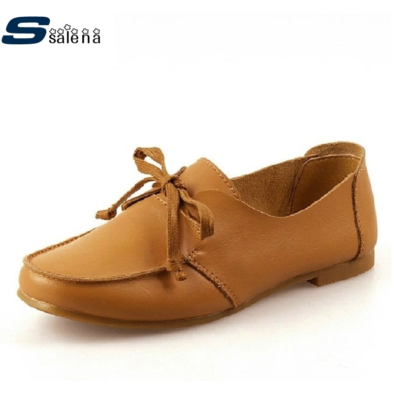 42.47$  Buy now - http://ali3zb.shopchina.info/1/go.php?t=32318465756 - Hot selling upscale oxfords shoes British style casual breathable women shoes leisure wild genuine leather shoes #C067 42.47$ #aliexpress