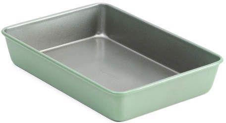 13x9 Ultima Oblong Stainless Steel Bake Pan Tabletop Shop Baking Pans Bakeware