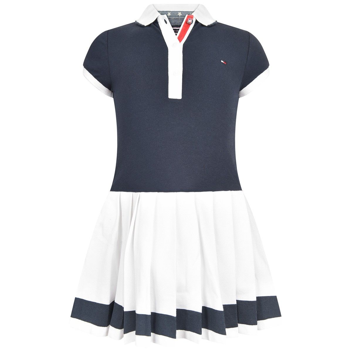 b3f4b1eb Tommy Hilfiger Girls Navy & White Polo Dress | Tommy Hilfiger SS16 ...
