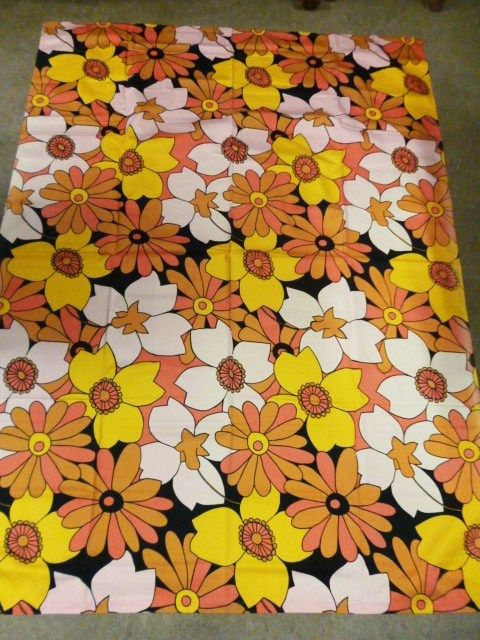 Tampella Finland Floral Fabric
