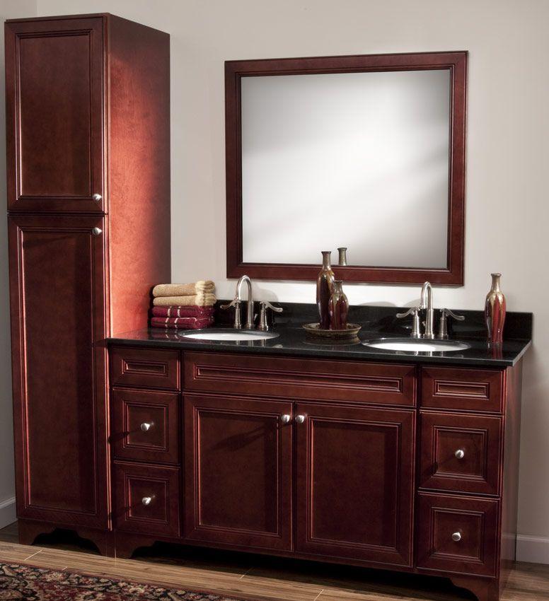 Bathroom Vanities And Cabinets Cherry Avalon Rta