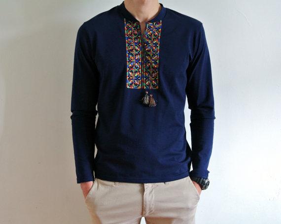 4b340a4cdca Vyshyvanka shirt Shirts for men Ukrainian clothing Embroidered shirt Made  in Ukraine Vyshivanka Gift