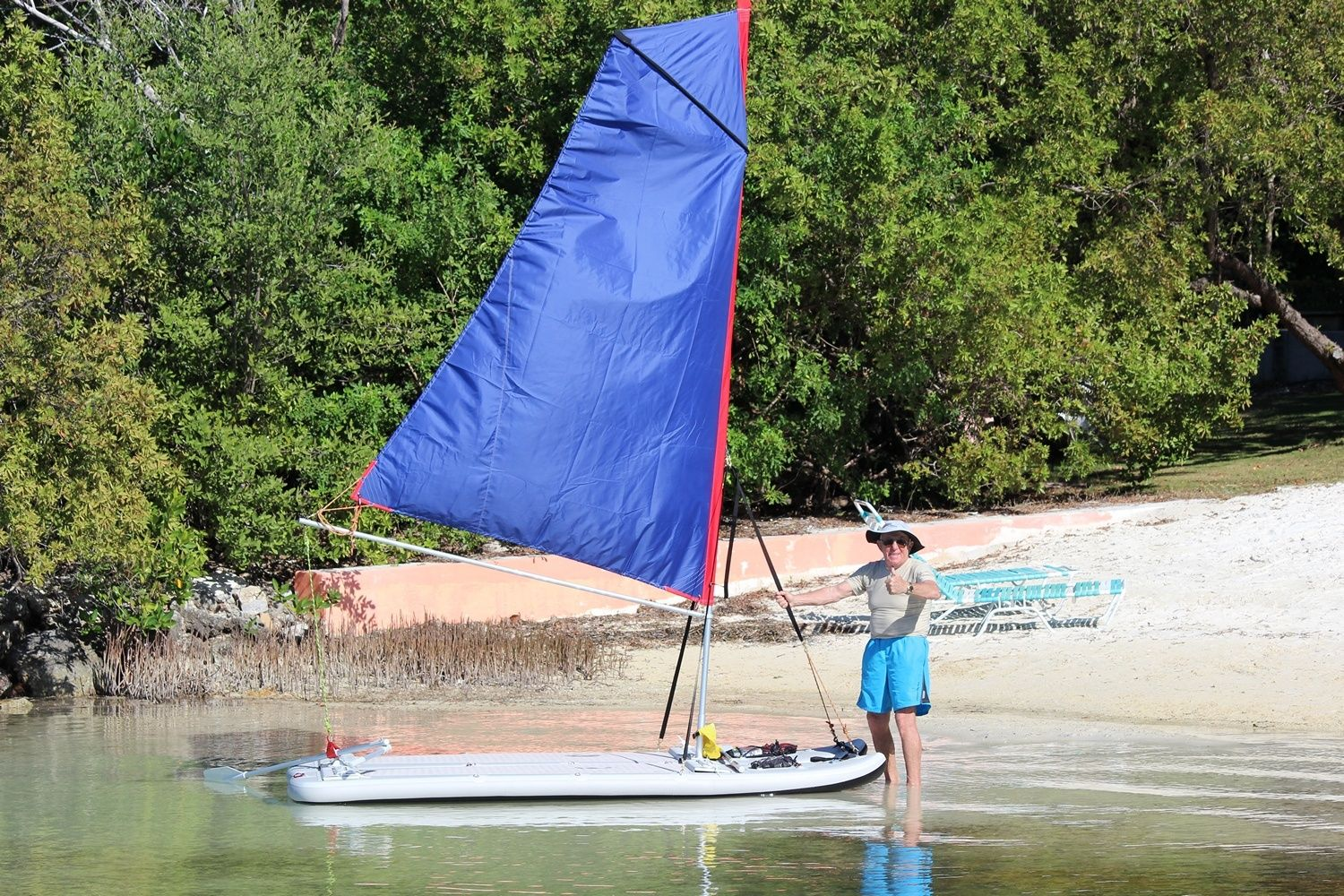 Convert 2 Inflatable Sup S Into A Sailboat Portable