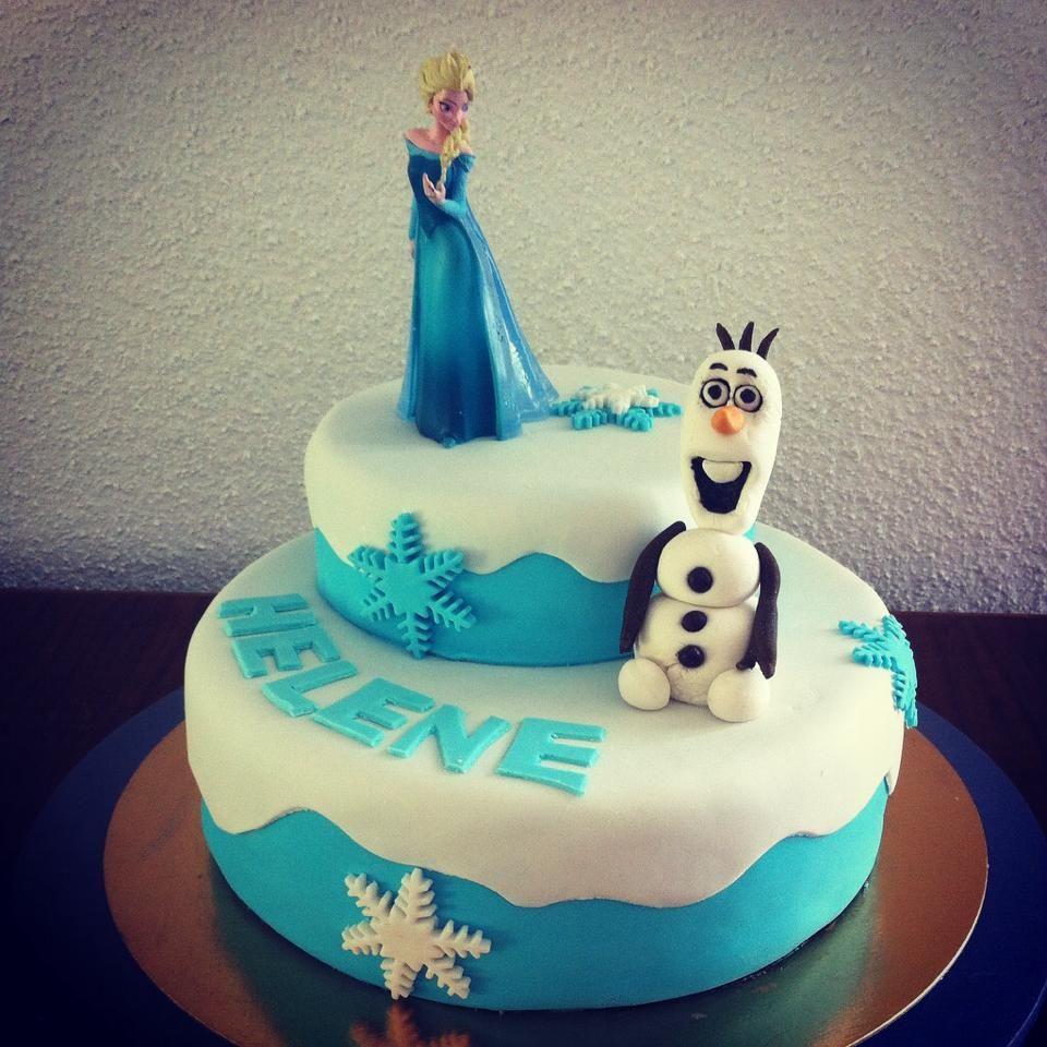 #frozen la reine des neiges #olaf cake design