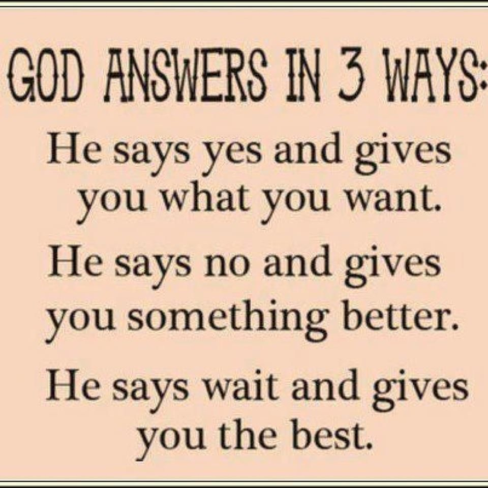 Religious Motivational Quotes 3 Be Patientgod Always Answers You Just Have To Wait And See