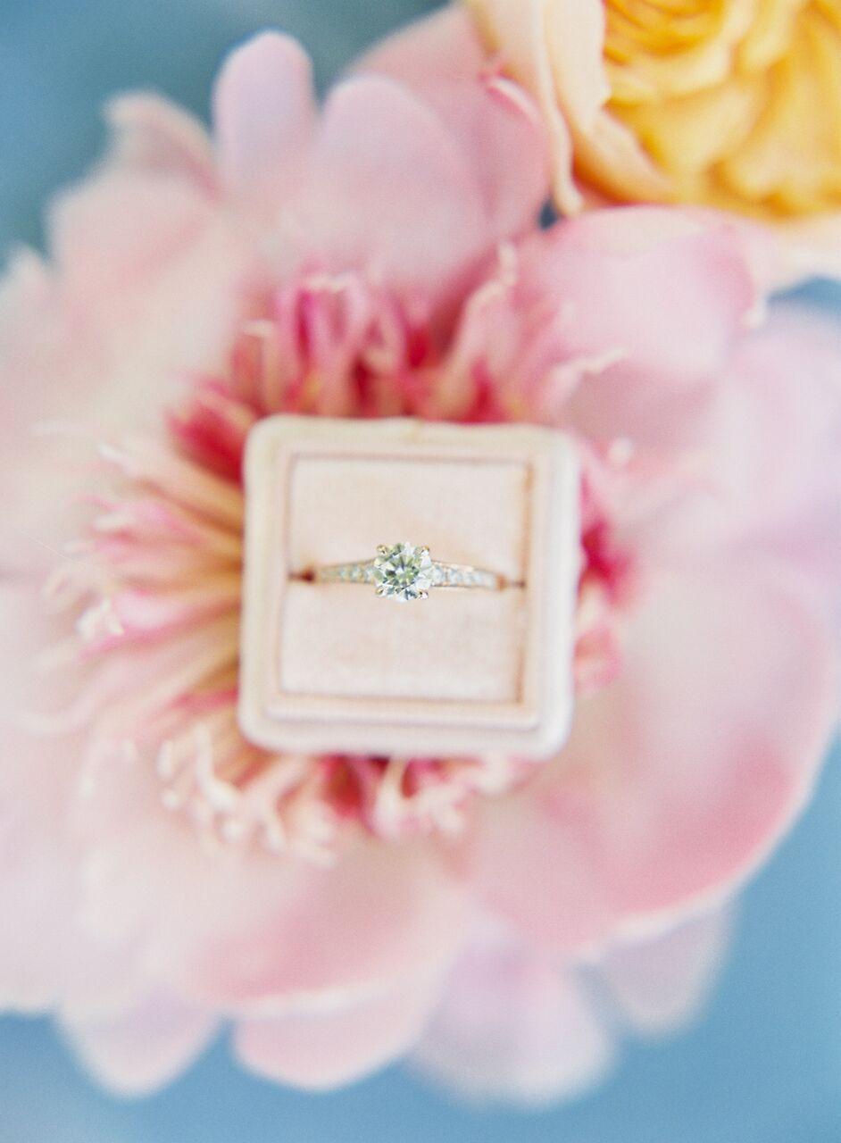 Blue Springtime Garden Wedding Inspiration from Nathalie Cheng ...