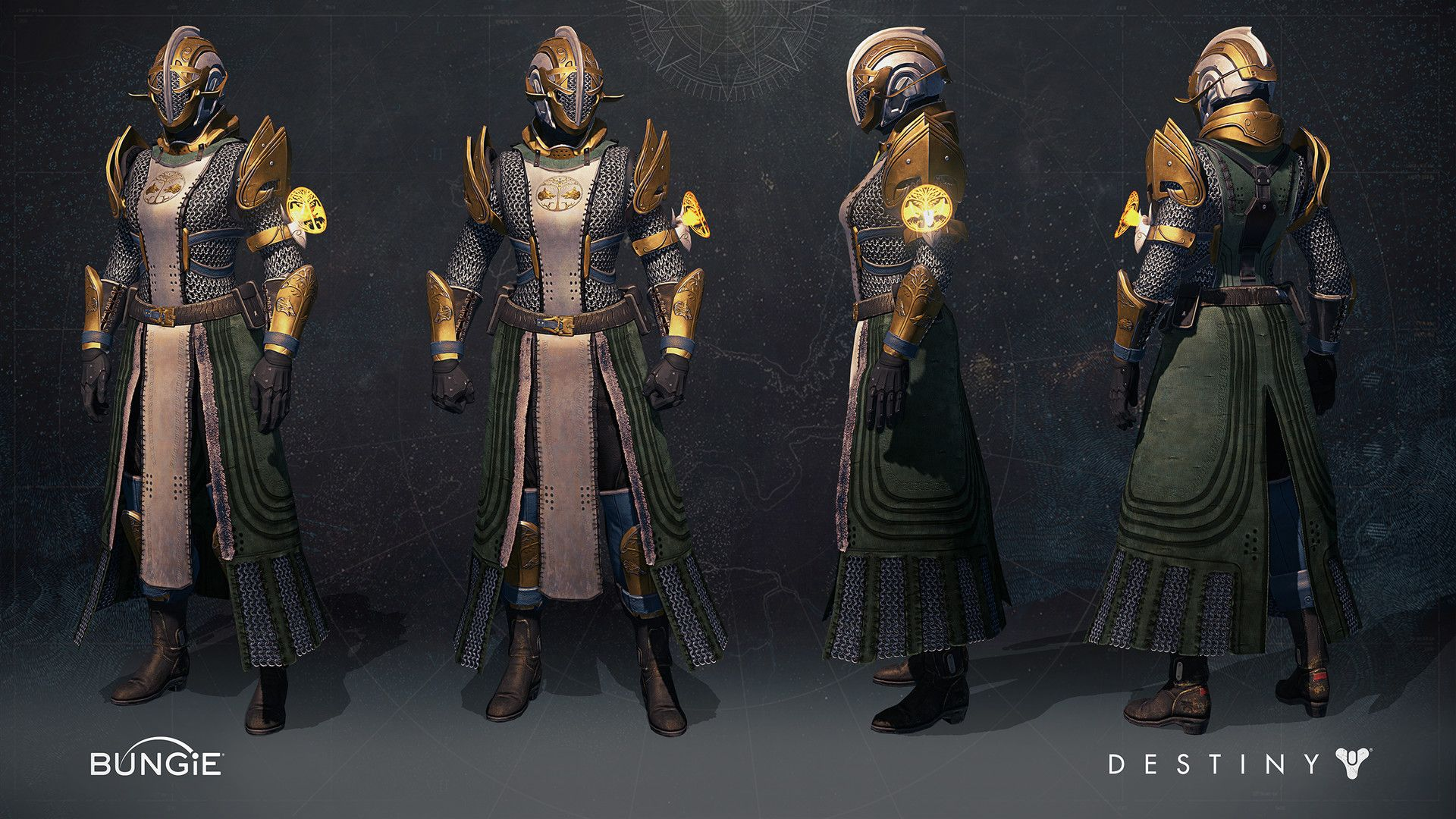 This is the Iron banner Warlock armor set for Destiny ...