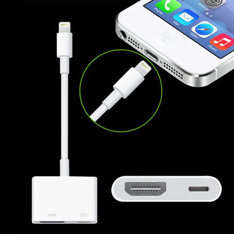 nice Lightning to Digital AV TV HDMI Cable Adapter Converter For - cable d alimentation electrique pour maison