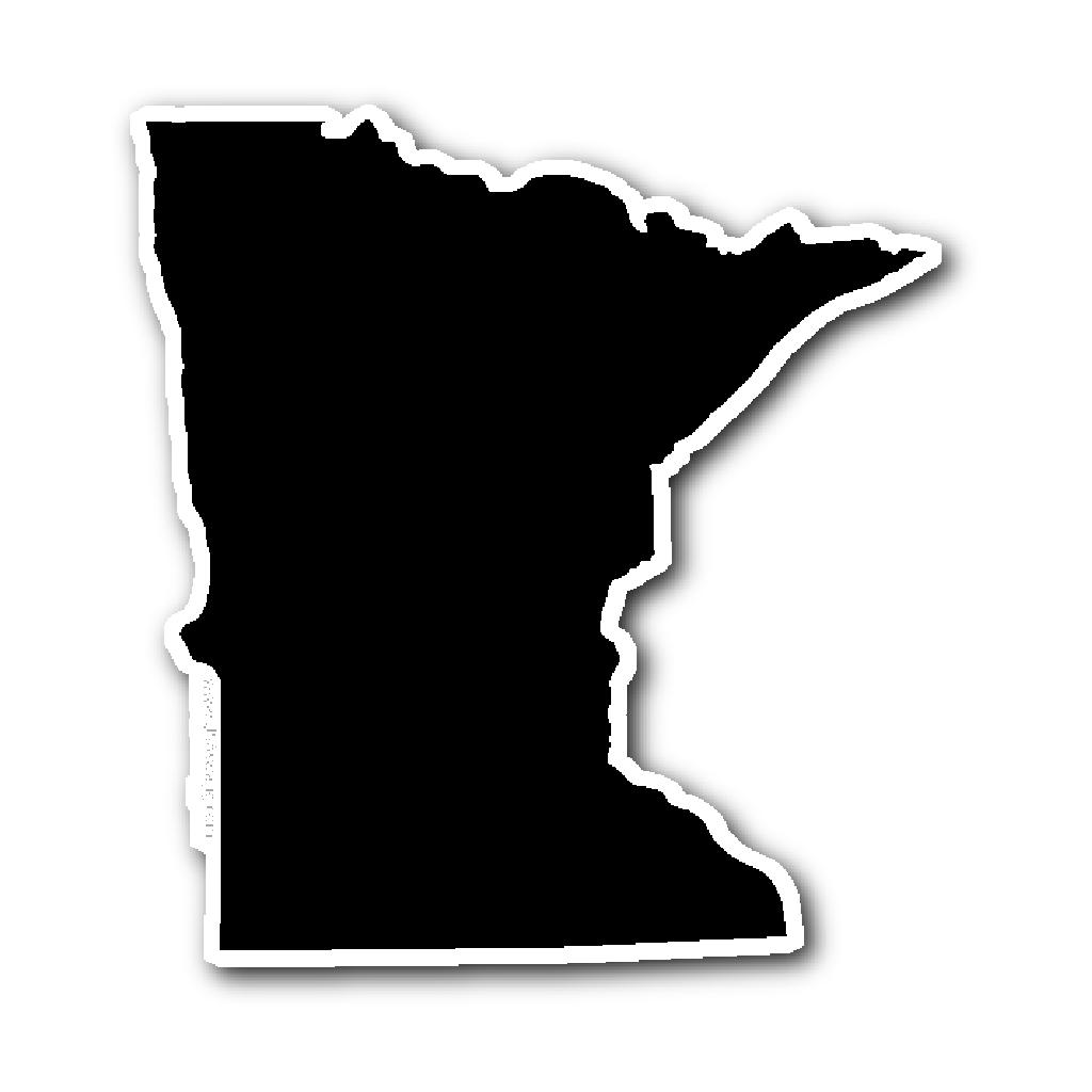 Minnesota Home Outline Stickers By Gretalohse Redbubble Minnesota Tattoo Minnesota Outline Minnesota Home