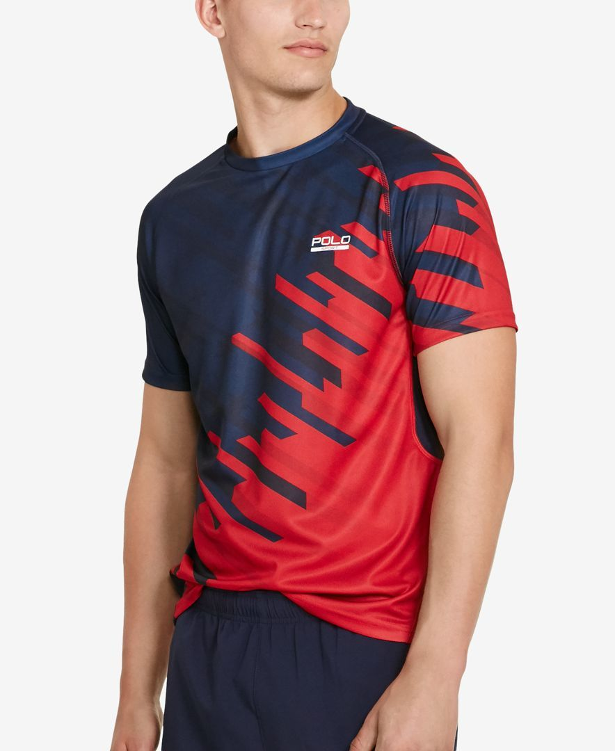 Polo Sport Men S Micro Dot Jersey T Shirt T Shirts Men Macy S Polo Shirt Design Sport Shirt Design Sports Tshirt Designs