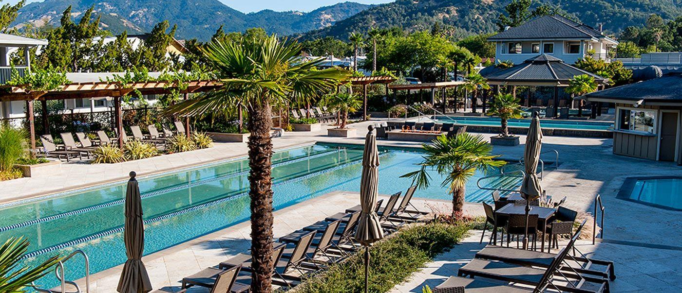 Calistoga Hotel Spa Mineral Pools Calistoga Spa Hot Springs Calistoga Hotels