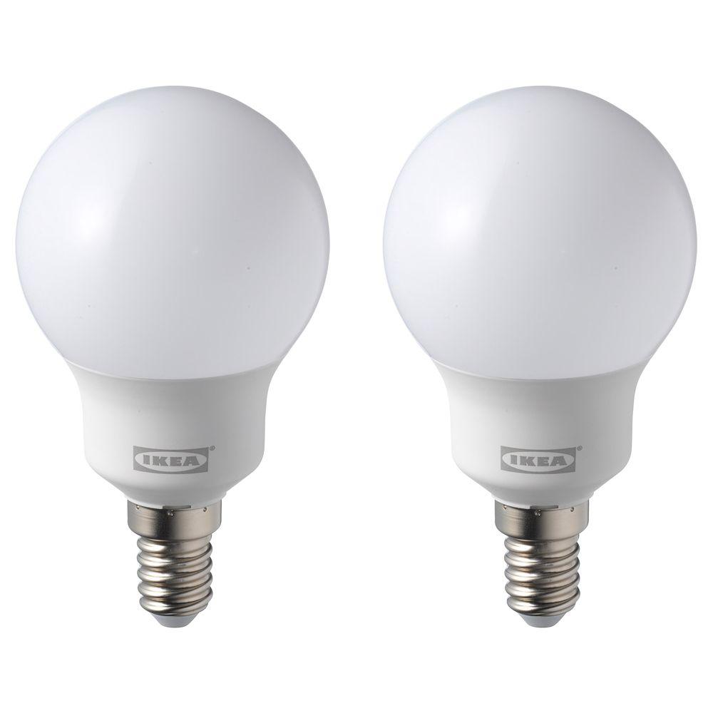 RYET LED bulb E14 600 lumen globe opal white 5000K