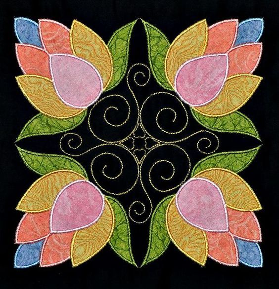 Resultado de imagen de affairs of the heart quilt pattern