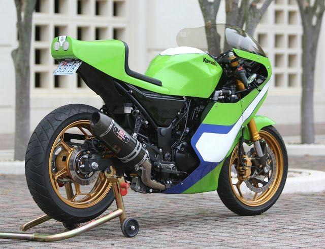 Gary Nixon Kawasaki H2 Race Bike Replica 300 Ninja Project Kawa K