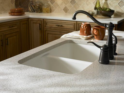 Corian Kitchen Countertop In White Jasmine Kitchen Cabinets In