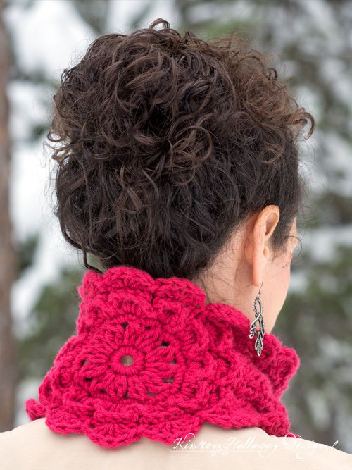 Pattern - Victorian Blush Muffler | Crochet | Pinterest | Cosas