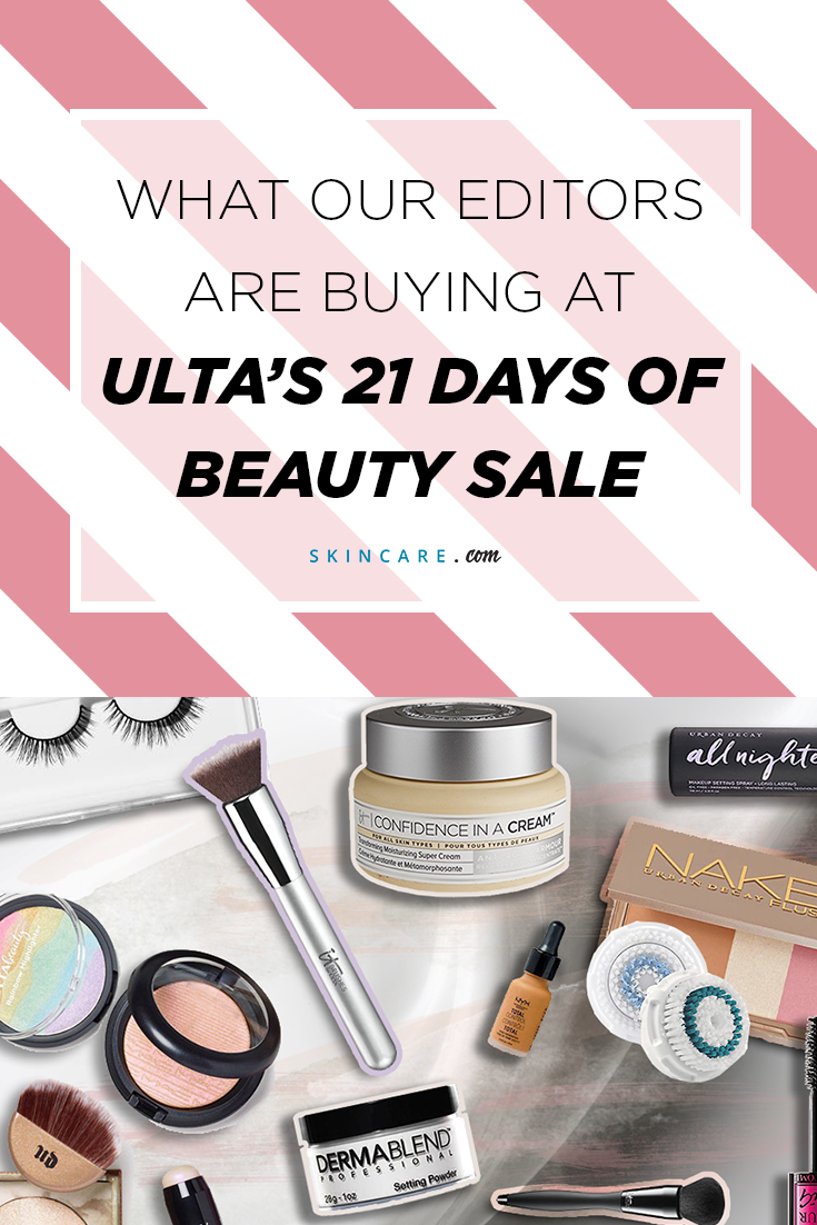 What Our Editors Are Buying at Ulta's 21 Days of Beauty