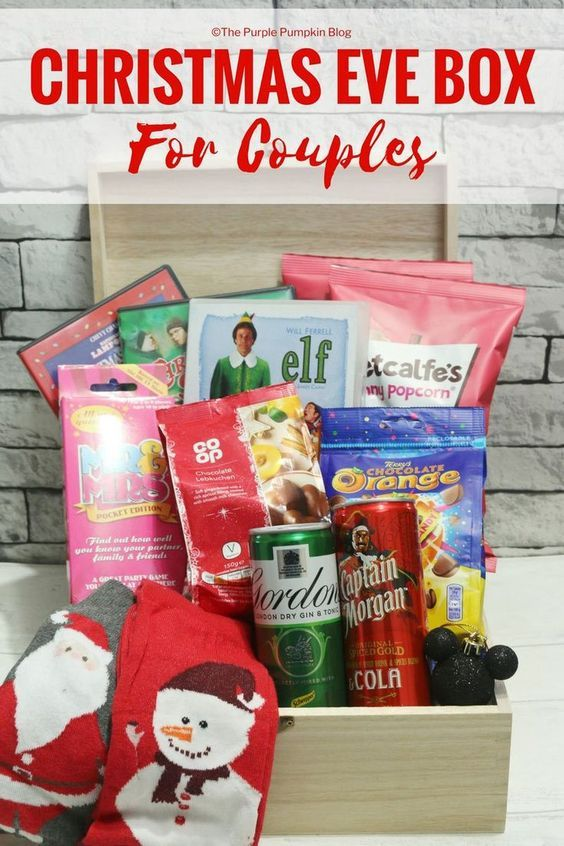 20 Great Christmas Eve Box Ideas For Holiday Christmas Eve Box Christmas Eve Gift Christmas Couple