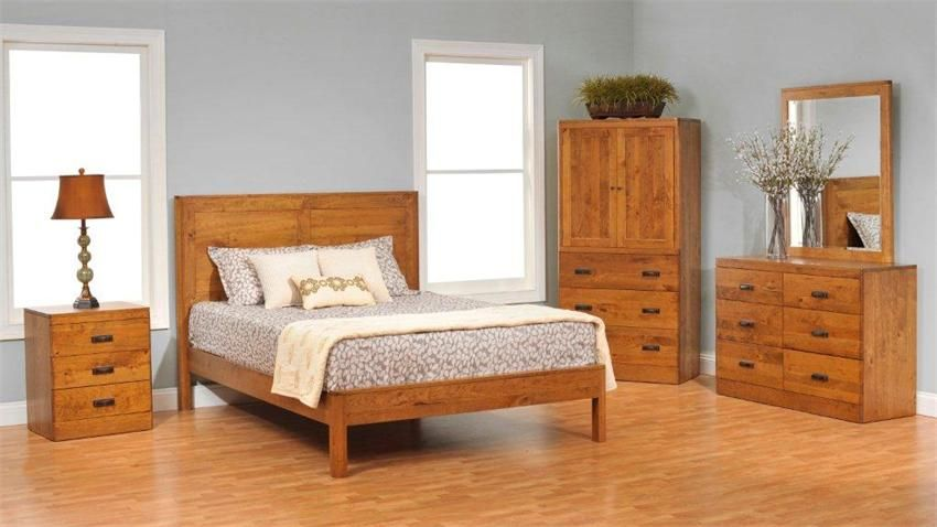 The charm and essence of real wood bedroom furniture | Small ...