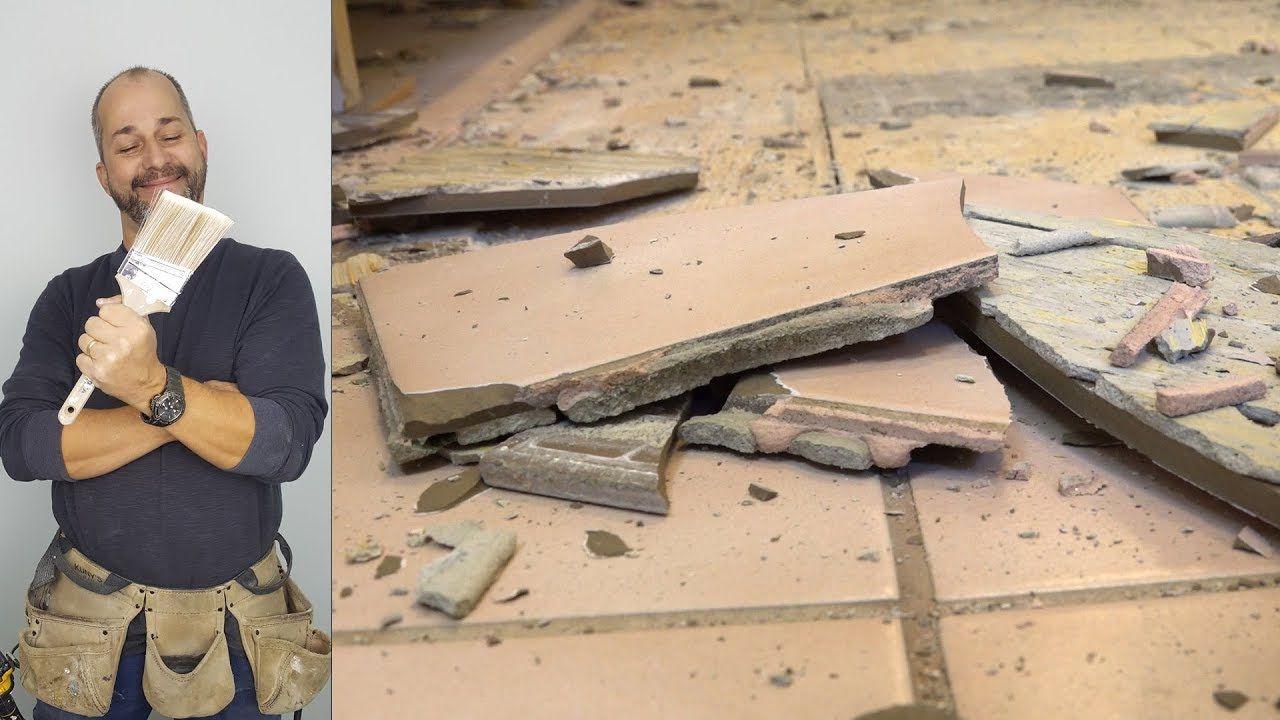 How to remove a ceramic floor youtube ceramic floor
