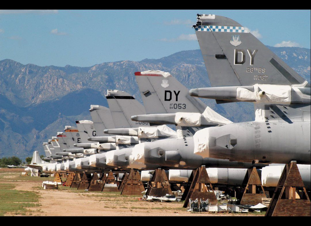 Davis Monthan Air Force Base Tucson Az Aircraft Arizona