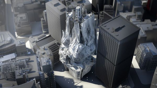 Tower skyscraper los angeles la sci arc southern - Interior design school los angeles ...