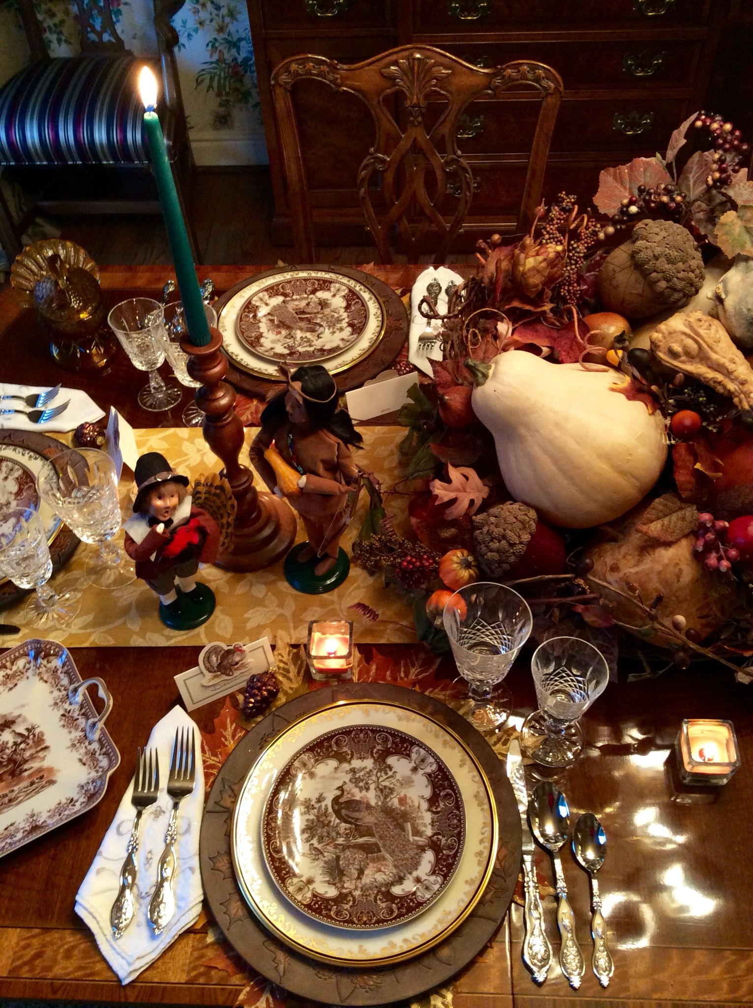 Cornucopia Takes Center Stage On Thanksgiving Table  Debbees Buzz