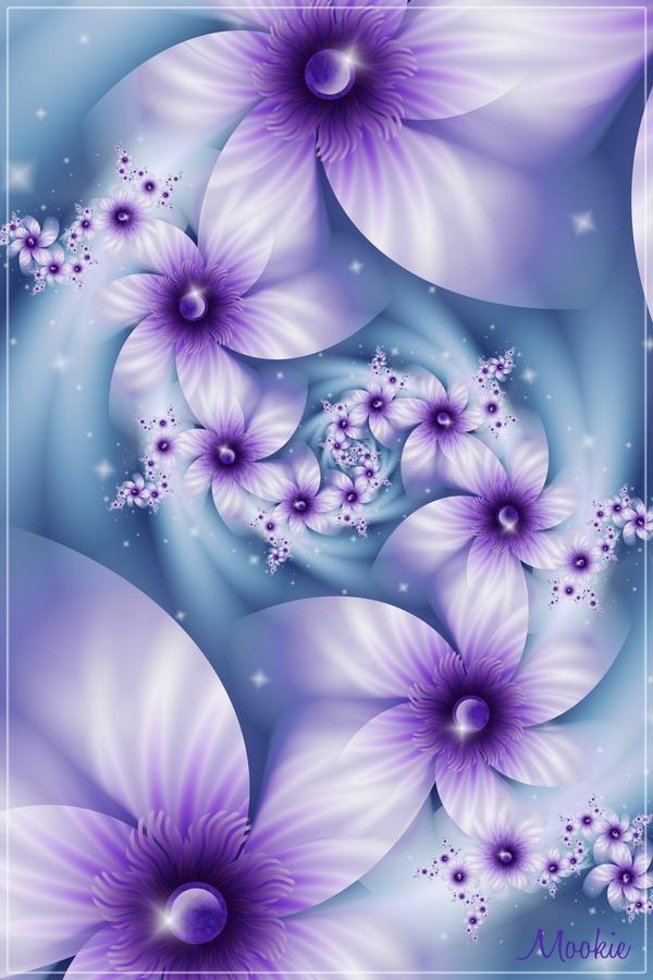 Purple Frolic by Mookiezoolook on DeviantArt