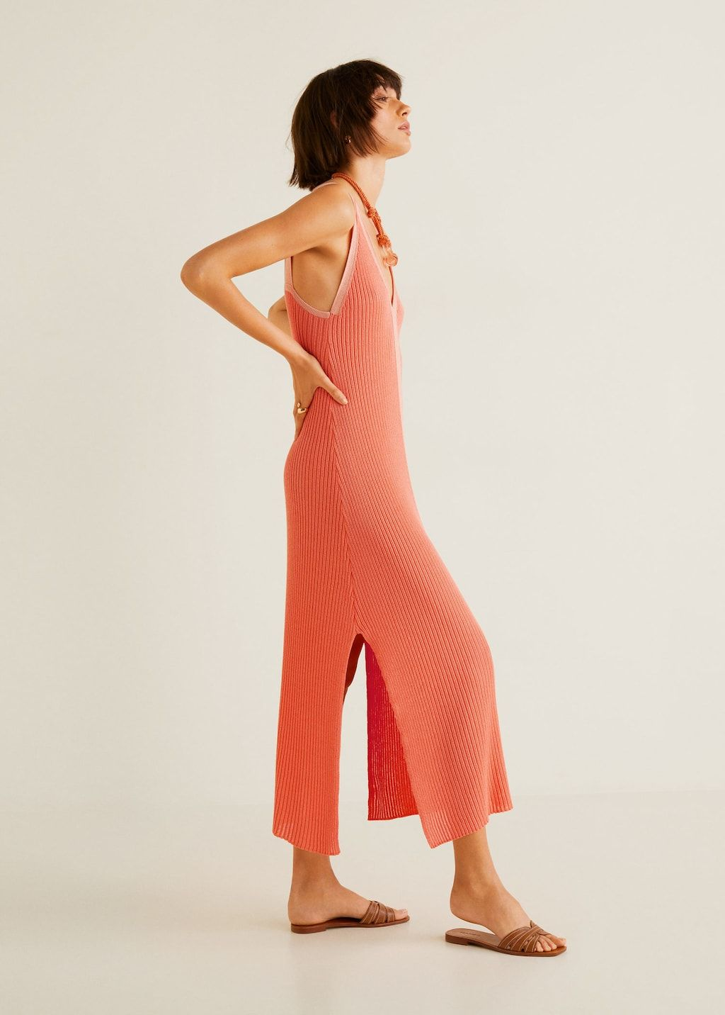 719d87fa7ac5e Contrast-bodice jersey dress - Woman in 2019 | Style Inspirations ...
