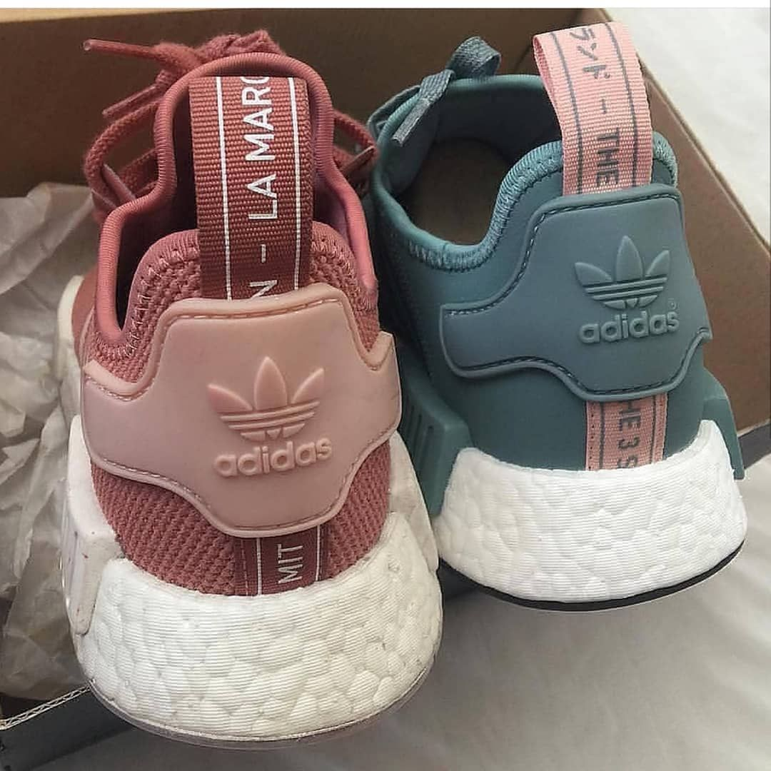 promo code 4859f 10e4b Adidas nmd pink or blue   Follow  hypedstreat