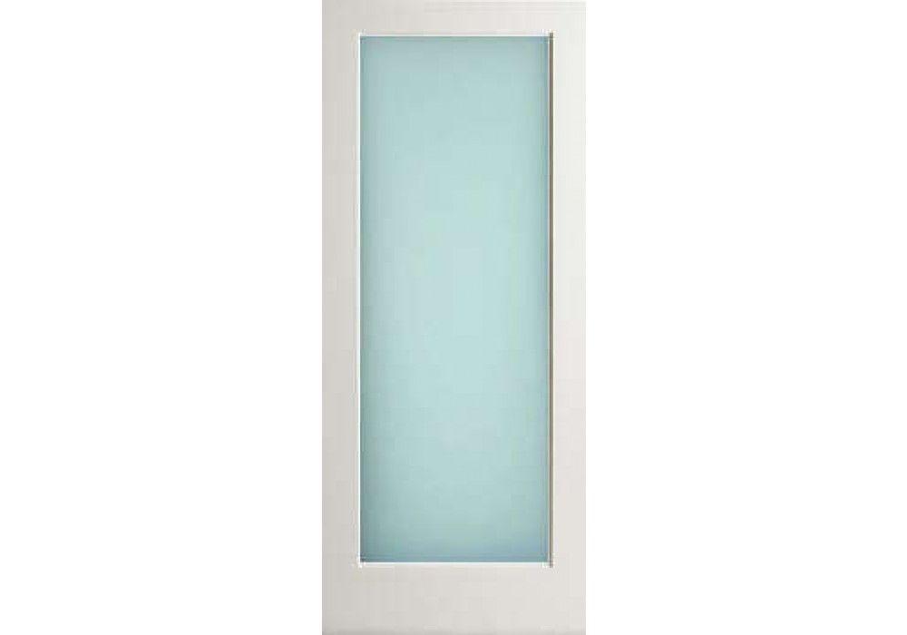 Exterior 1 Lite White Primed Door W Obscure Laminate Glass Doors Interior Solid Core Interior Doors Glass Barn Doors