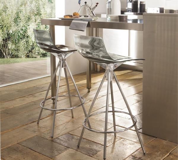 Calligaris Contemporary Leau Bar Stool In Various Colours With