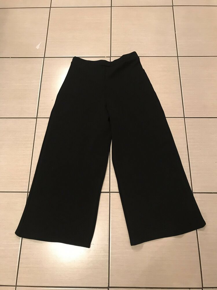 30ebd1faf Ladies Black Cropped Culotte Style Dressy Trousers Size 12 Boohoo #fashion  #clothing #shoes #accessories #womensclothing #pants (ebay link)