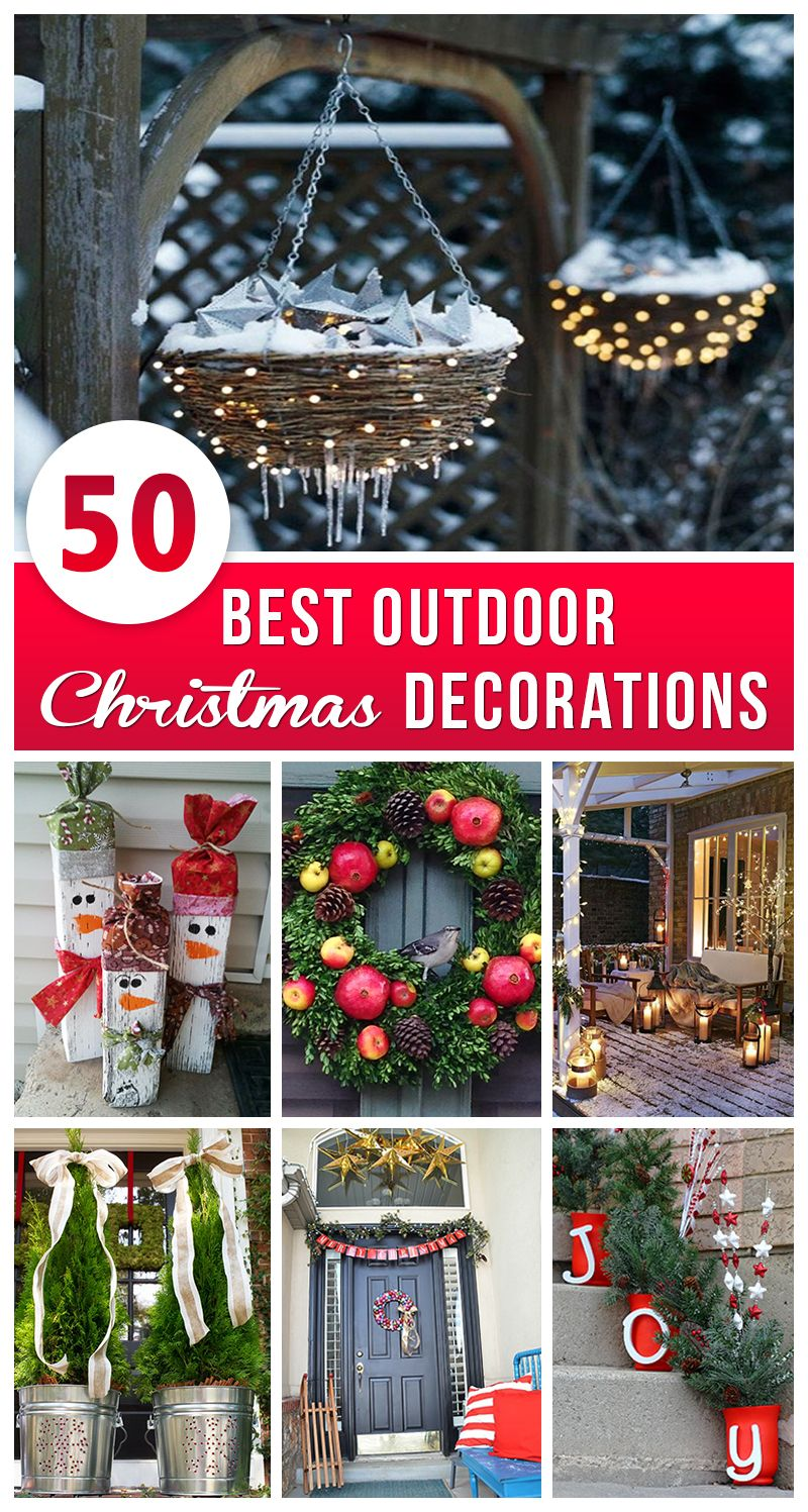 best outdoor christmas decorations for outdoor