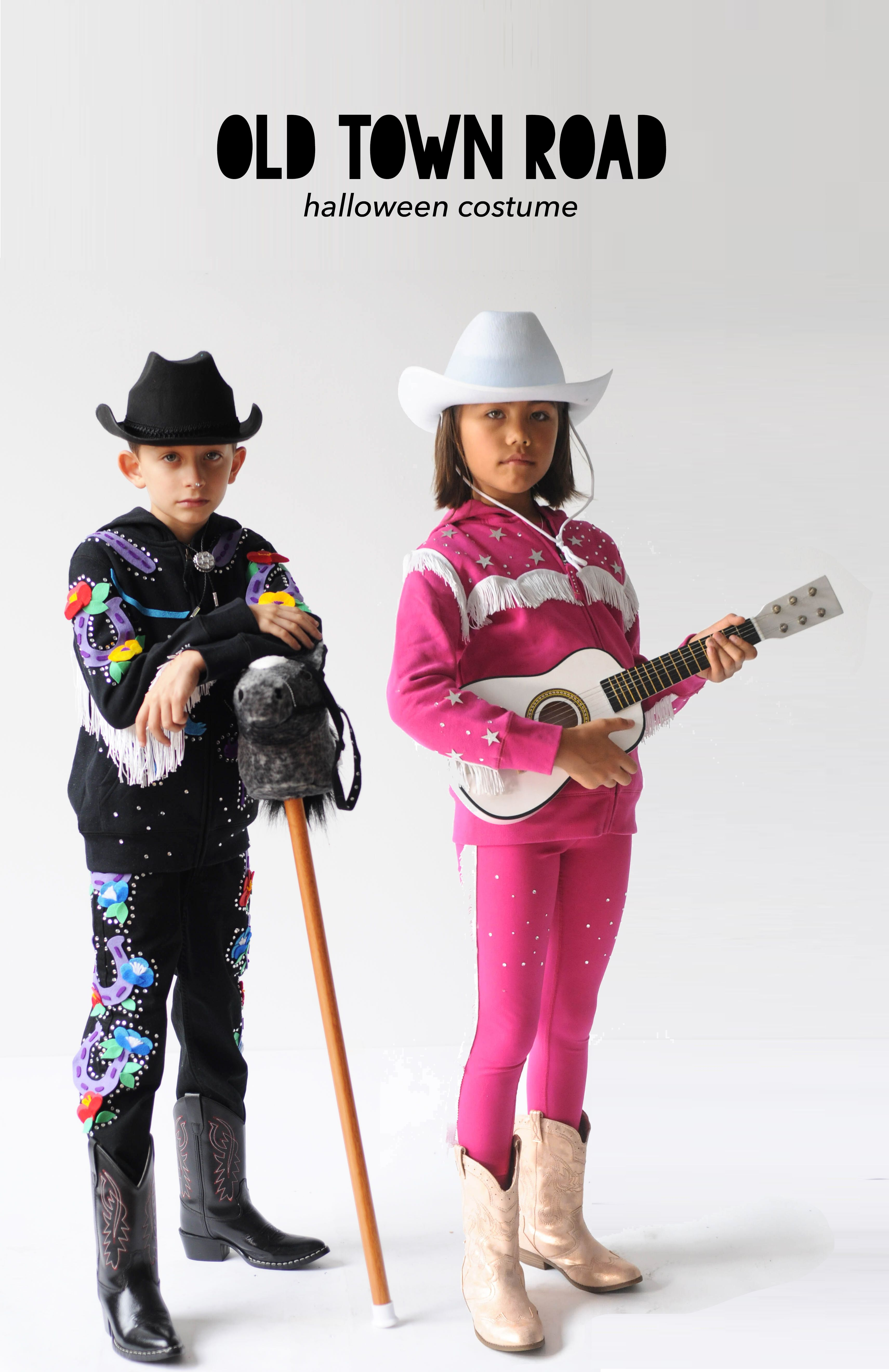 How to Make an Old Town Road Halloween Costume Cowboy