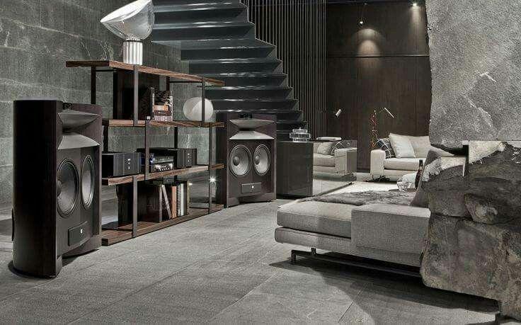 High end Audio audiophile listening room design | Room ...