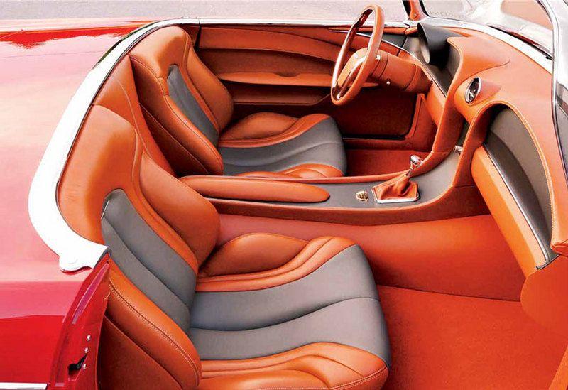hot rod interiors   Dwayne Peace's Ridler-winning '55 ...