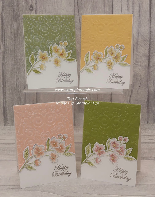 Forever Blossoms - Birthday Card - Video Tutorial