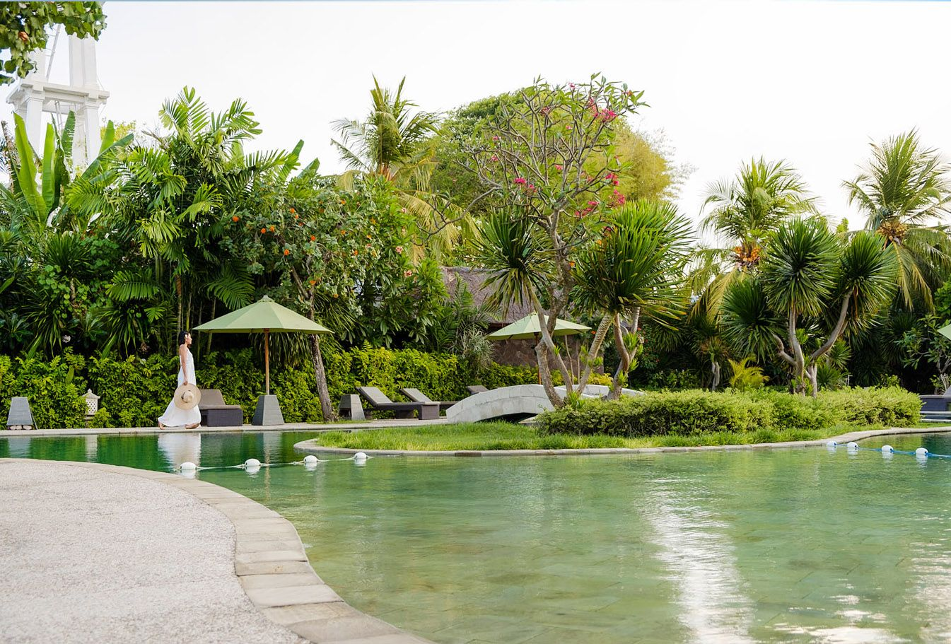 Double tap if you wish you were here basking in the tropical sun and dipping your toes in #TheTAOBali pool!  #TheTanjungBenoaBeachResort #TheTanjungBenoa  #Bali