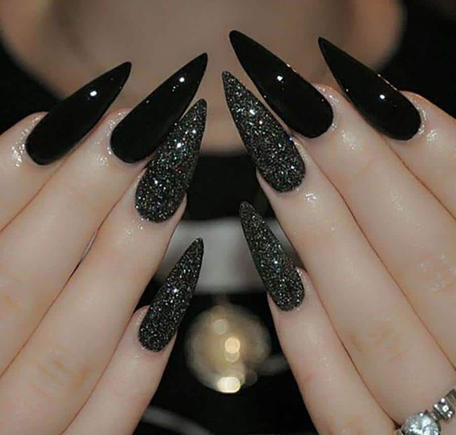 20 Worth Trying Long Stiletto Nails Designs - Styl